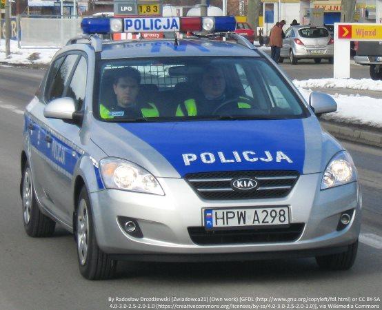 Policja Poznań: Poznań - Zarzuty za zgłoszenie fikcyjnej kradzieży auta